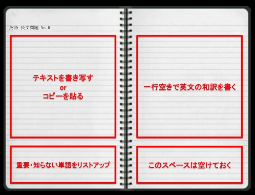 英語 わからない 単語 ノート なじみのない単語を単語ノートに書く
