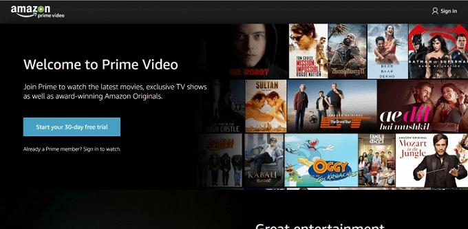 Amazon プライム 英会話 Prime Video